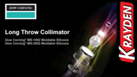 Long Throw Collimator Assembly Dow Corning Moldable Silicone