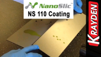 NanoSlic NS 110 Protective Coating Test on GE Appliances