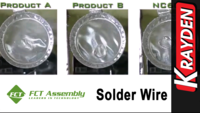 FCT NC603 Solder Wire Comparison