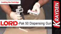 LORD-Pak 50 ml Cartridge Manual Dispensing Gun: Instructional Video