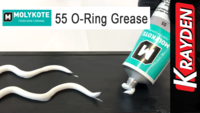 Molykote 55 O-Ring Greased Dispensed
