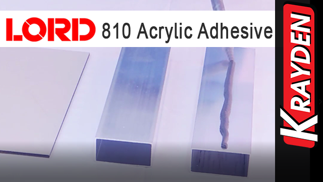 How to use LORD 810 Acrylic Adhesive