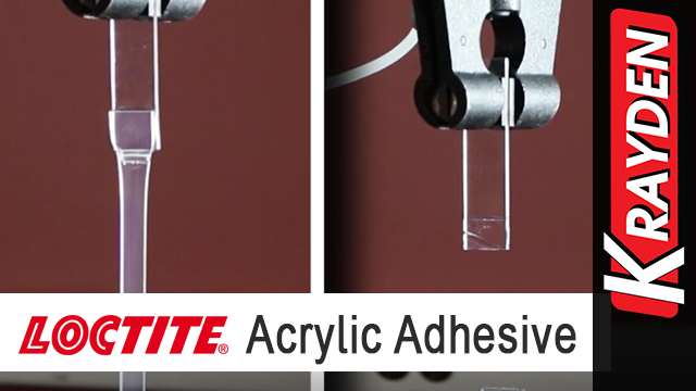 Loctite AA 3951/Loctite AA 3953 Strength on Flexible Substrates